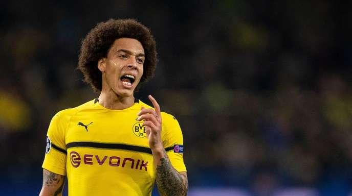 Dortmunds Axel Witsel will noch nicht an den Titel denken.