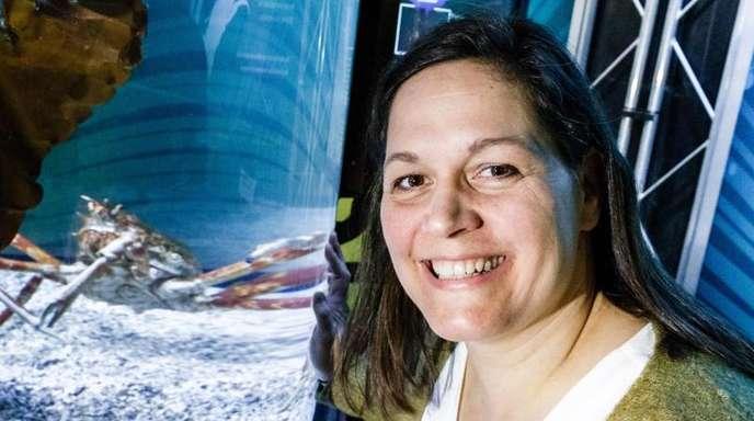 Ex-Schwimm-Star Sandra Völker arbeitet jetzt als selbstständige Kleinunternehmerin mit drei Jobs.