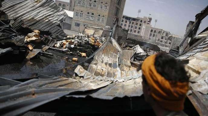 Vier Jahre schon dauert der Bürgerkrieg im Jemen. Jetzt beginnen Friedensgespräche in Stockholm.