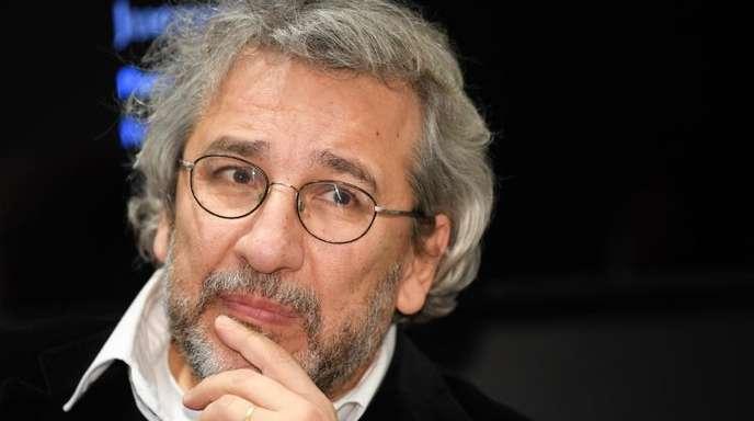 Der türkische Journalist Can Dündar, Ex-Chefredakteur der regierungskritischen Zeitung «Cumhuriyet» auf der Frankfurter Buchmesse.