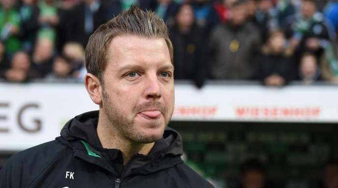 Bremens Trainer Florian Kohfeldt baut für das Spiel gegen Fortuna Düsseldorf auf den Einsatz von Ludwig Augustinsson.