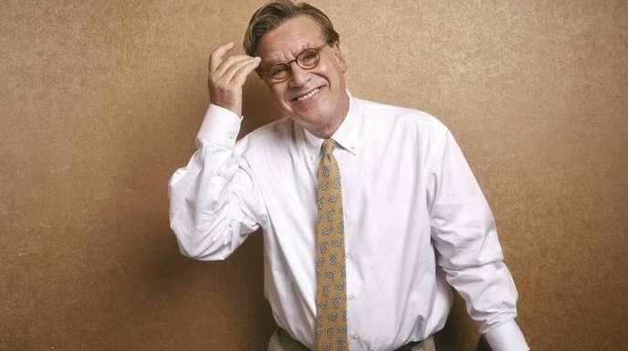 Der Drehbuchautor und Dramatiker Aaron Sorkin in New York.