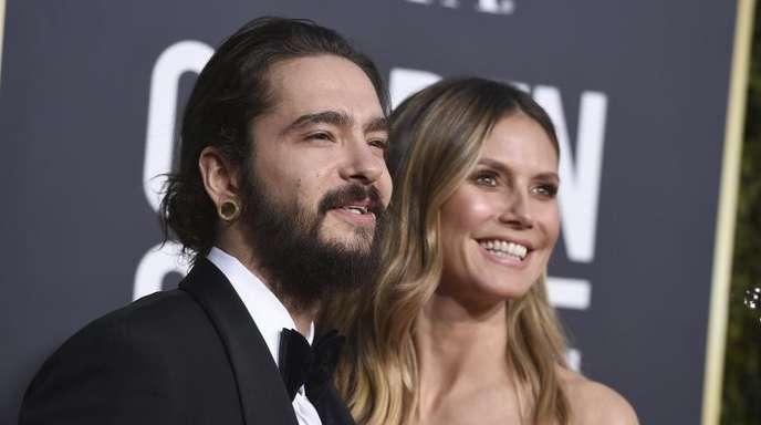 Ein glückliches Paar: Tom Kaulitz und Heidi Klum.