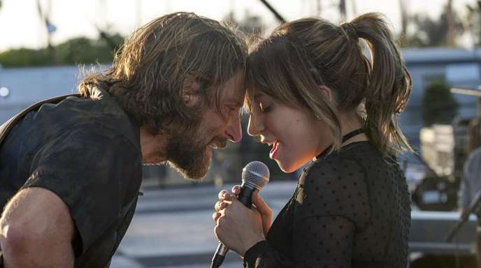 Bradley Cooper als Eddie Brock und Lady Gaga als Ally in «A Star Is Born».