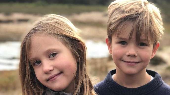 Prinzessin Josephine und Prinz Vincent feiern ihren achten Geburtstags.