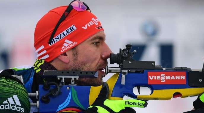 Arnd Peiffer und die Biathlon-Herren wollen in Oberhof ein besseres Ergebnis als die Biathletinnen erreichen.