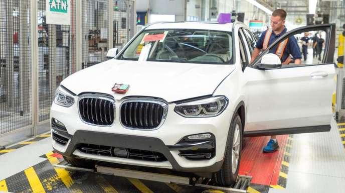 Zugpferde für BMW dürften in China gebaute Autos wie der X3 sein.