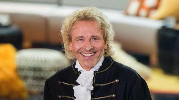 Thomas Gottschalk plant mit dem ZDF eine Samstagabendshow zum Thema Schlager.