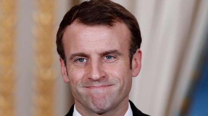 Emmanuel Macron verliert in der Bevölkerung an Vertrauen.