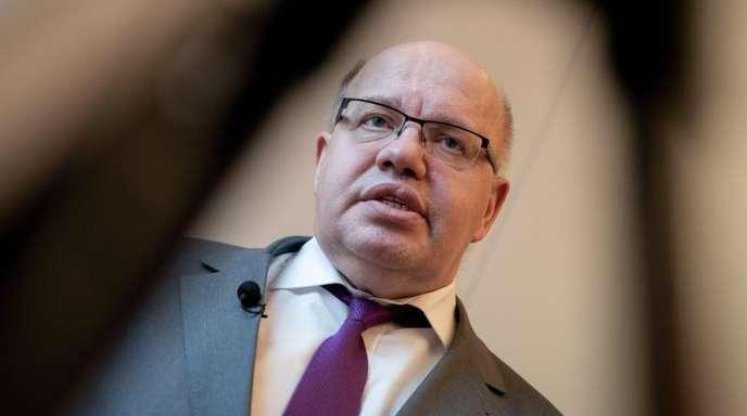 Bundesminister Peter Altmaier in einem Interview mit Journalisten der Deutschen Presse-Agentur.