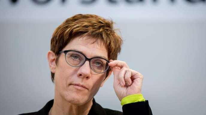 Annegret Kramp-Karrenbauer hatte imDezember Angela Merkel als Vorsitzende der CDU abgelöst.
