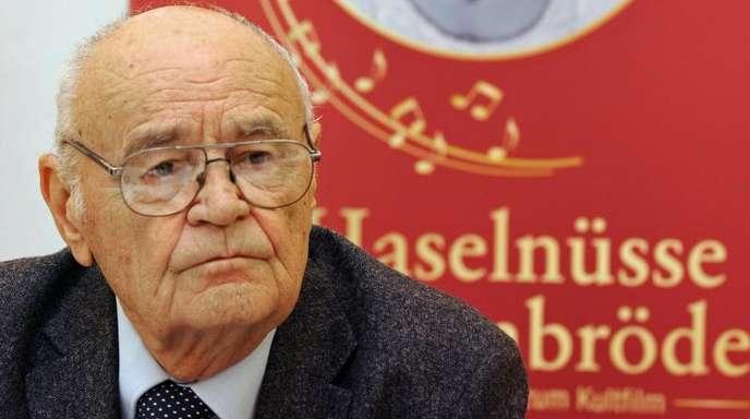 Vaclav Vorlicek, Regisseur des TV-Weihnachtsklassikers «Drei Haselnüsse für Aschenbrödel», ist gestorben.