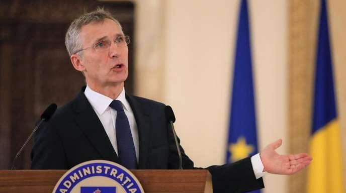 Nato-Generalsekretär Stoltenberg kündigte an, die Nato werde eigene Initiativen prüfen, um den Vertrag zu erhalten und die Rüstungskontrolle zu stärken.