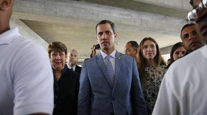 Juan Guaidó, selbst ernannter Interimspräsident von Venezuela.