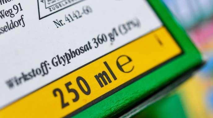 Das Unkrautvernichtungsmittel Glyphosat war 2017 in der EU nach monatelangem Streit für weitere fünf Jahre zugelassen worden.