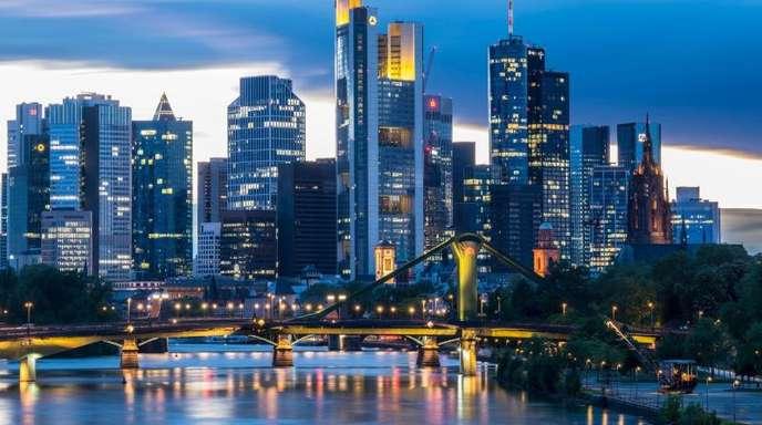 Deutsche Finanzinstitute sind gegenwärtig an der Börse ziemlich niedrig bewertet.