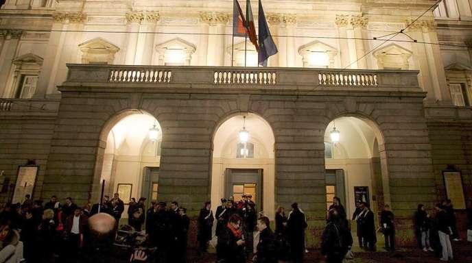 Weltberühmt: die Scala in Mailand.