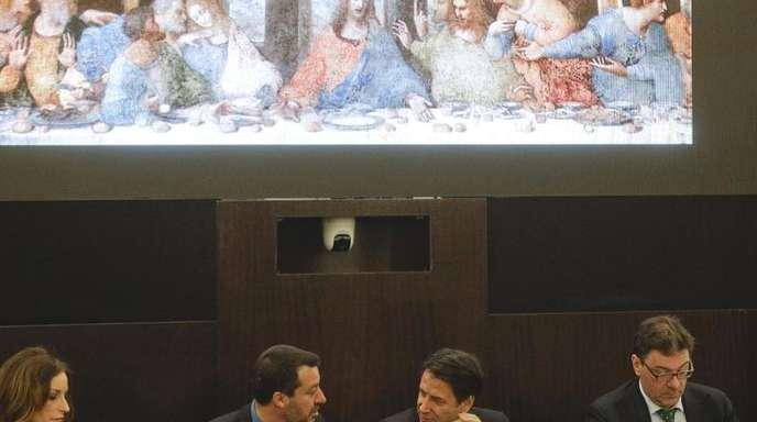 Italien feiert Leonardo da Vinci.