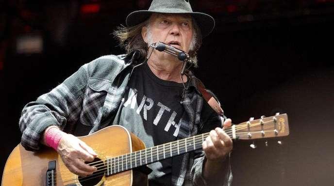 Neil Young kommt im Sommer nach Deutschland.