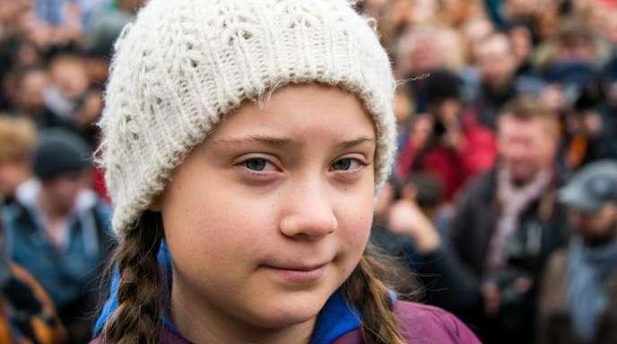 Greta Thunberg, Klimaaktivistin aus Schweden.