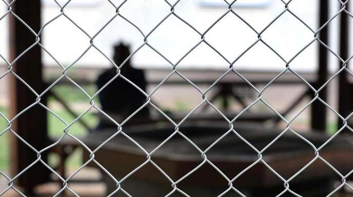 Asylsuchender im Ankerzentrum Schweinfurt. Der Bund will weniger zu den Ausgaben für Unterkunft, Verpflegung und Integrationsmaßnahmen beitragen.