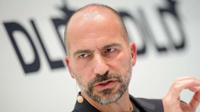 Uber-Chef Dara Khosrowshahi auf der Innovationskonferenz Digital-Life-Design (DLD). in München 2018.