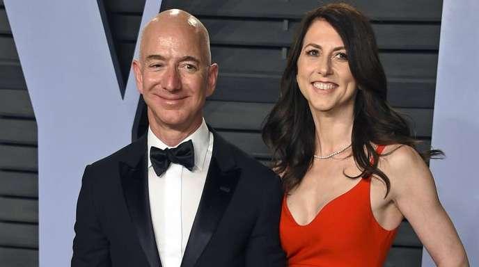Die Scheidung von Amazon-Chef Jeff Bezos und seiner Frau MacKenzie Bezos ging friedlich über die Bühne.