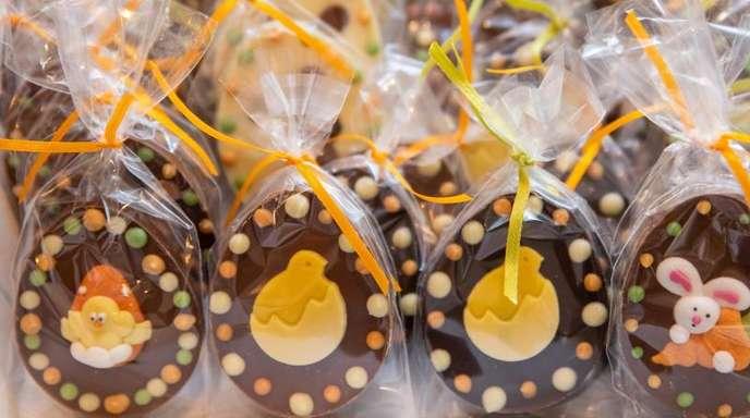 Gerade zu Ostern essen die Deutschen gern viel Schokolade.