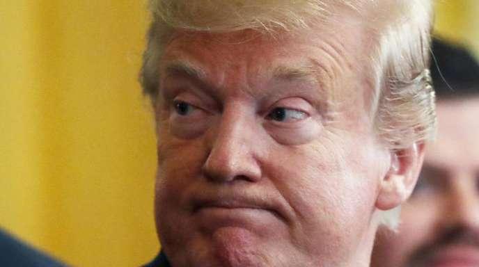 «Das ist das Ende meiner Präsidentschaft. Ich bin erledigt»: Donald Trump.