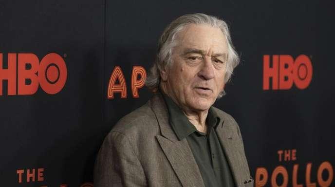Robert De Niro kommt zur Vorführung der Dokumentation «The Apollo», mit der das Tribeca-Filmfestival eröffnet wurde.