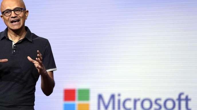 Microsoft-Chef Satya Nadella.