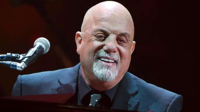 Billy Joel beim 100. Konzert seiner Karriere im New Yorker Madison Square im letzten Juli.