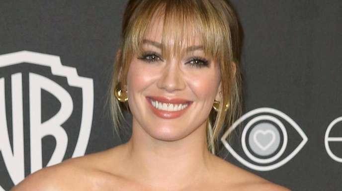 Hilary Duff bei einer Party nach der Verleihung der Golden Globes.