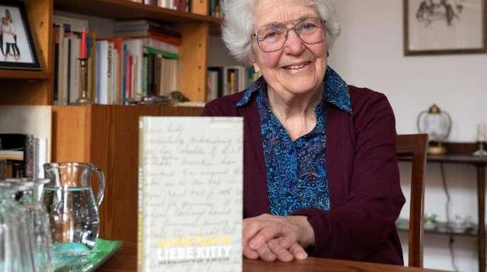 Laureen Nussbaum beim dpa-Interview über das Buch «Anne Frank - Liebe Kitty».