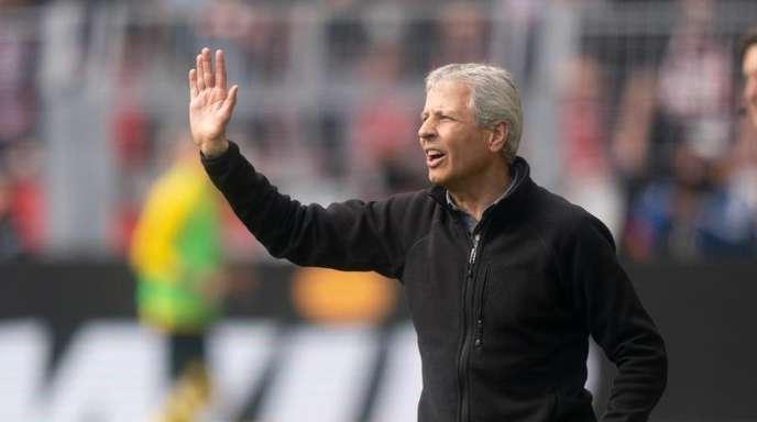 Voll fokussiert auf das Meisterschafts-Finale:BVB-Coach Lucien Favre.