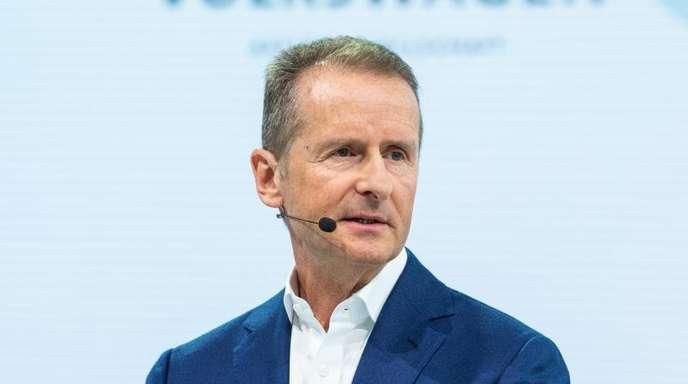 Als Nachfolger vonMathias Müller ist Herbert Diess seit April vergangen Jahres Vorstandsvorsitzender der Volkswagen AG.