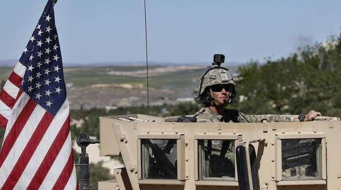 US-Truppen im syrischen Manbidsch.