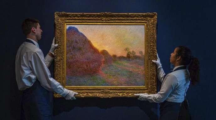 «Meules» des Künstlers Claude Monet.