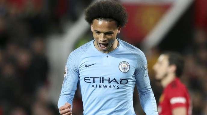Leroy Sané steht bei Manchester City unter Vertrag.
