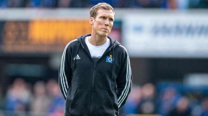 Noch Trainer beim HSV: Hannnes Wolf.
