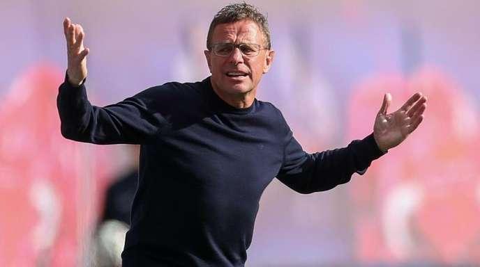 Hat noch viel vor mit RB Leipzig: Ralf Rangnick.