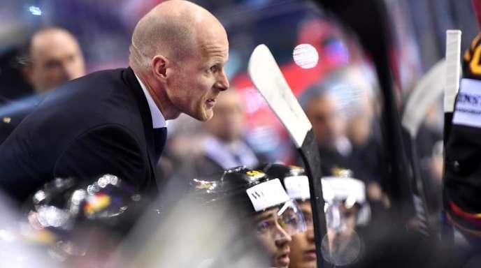 DEB-Coach Toni Söderholm ist mit der Leistung seiner Spieler zufrieden.