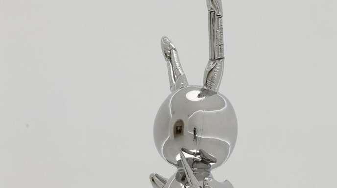 Teurer Hase:91 Millionen Dollar war einem Sammler die Skulptur «Rabbit» von Jeff Koons wert.