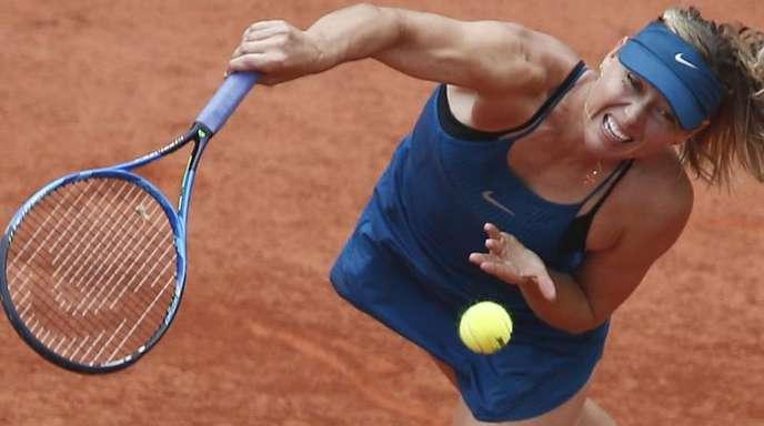 Maria Scharapowa wird nicht bei den French Open aufschlagen.