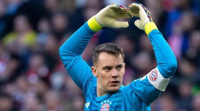 Der FCBayern muss im Bundeligafinale auf Torwart Manuel Neuer verzichten.