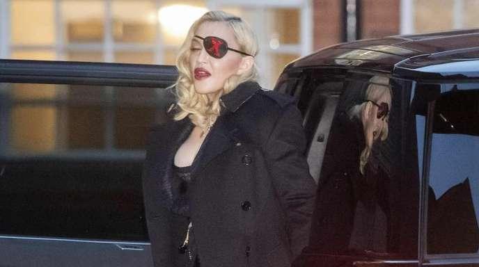 Kommt Madonna mit Augenklappe auch zum ESC?