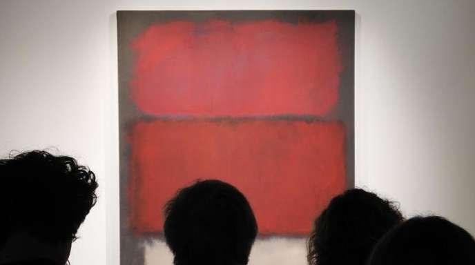 Mark Rothkos unbetiteltes Gemälde aus dem Jahr 1960 hatte einen Schätzpreis von 35 bis 50 Millionen Dollar.