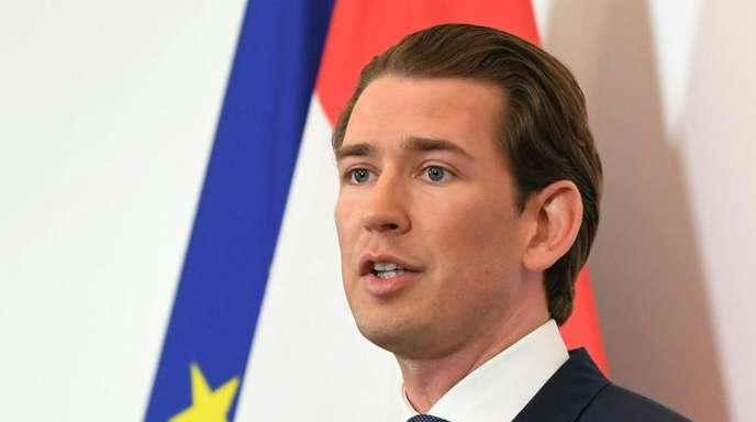 Sebastian Kurz am Tag des Strache-Rücktritts. Kurz hat die Koalition mit der FPÖ aufgekündigt.