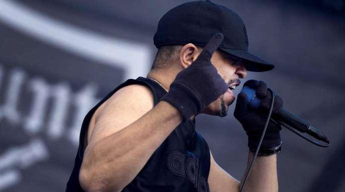 Ice-T Foto macht seinem Ärger Luft.
