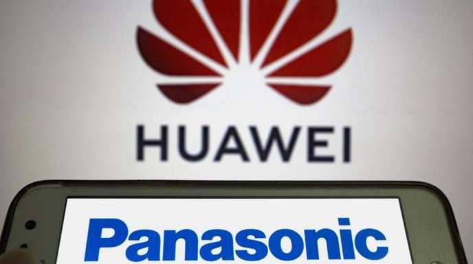 Der Elektronikkonzern Panasonic entschied, die Bereitstellung von einigen Komponenten an Huawei auszusetzen. Foto. Andre M. Chang/ZUMA Wire